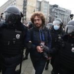 На акции протеста в Москве был задержан Илья Варламов