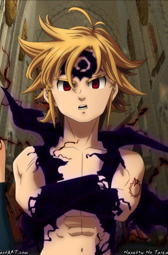 Wallpaper Meliodas, лучшие обои из аниме (3)