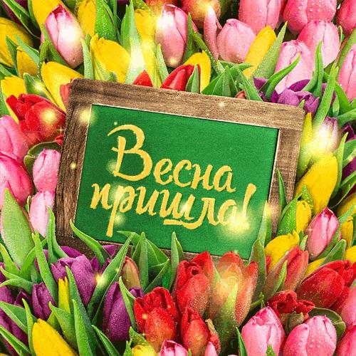 Красивые открытки Вот и весна пришла (18)