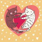 Красивые открытки на 14 февраля День Влюбленных для любимых