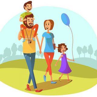 Прогулки на свежем воздухе картинки для детей (12)