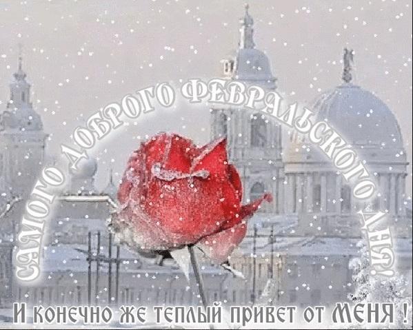 Февральское доброе утро картинки и открытки (11)