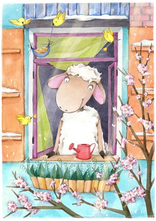 Апрель в картинках для детей - подборки и подделки (17)