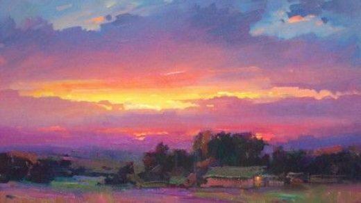 Закат осенью   самые лучшие рисунки и изображения  (1)