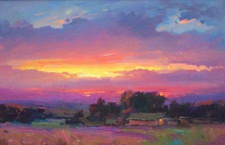 Закат осенью - самые лучшие рисунки и изображения (1)