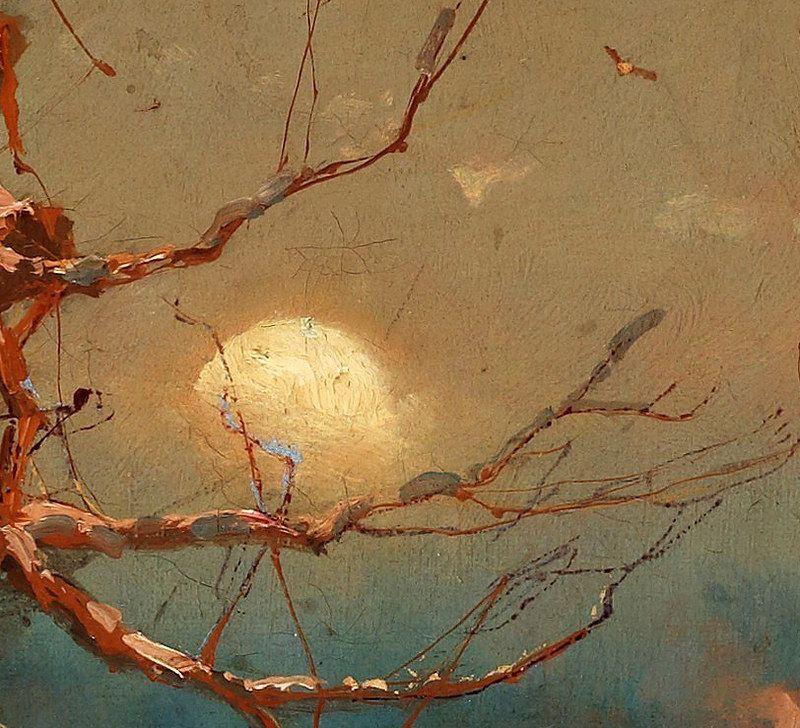 Закат осенью - самые лучшие рисунки и изображения (10)