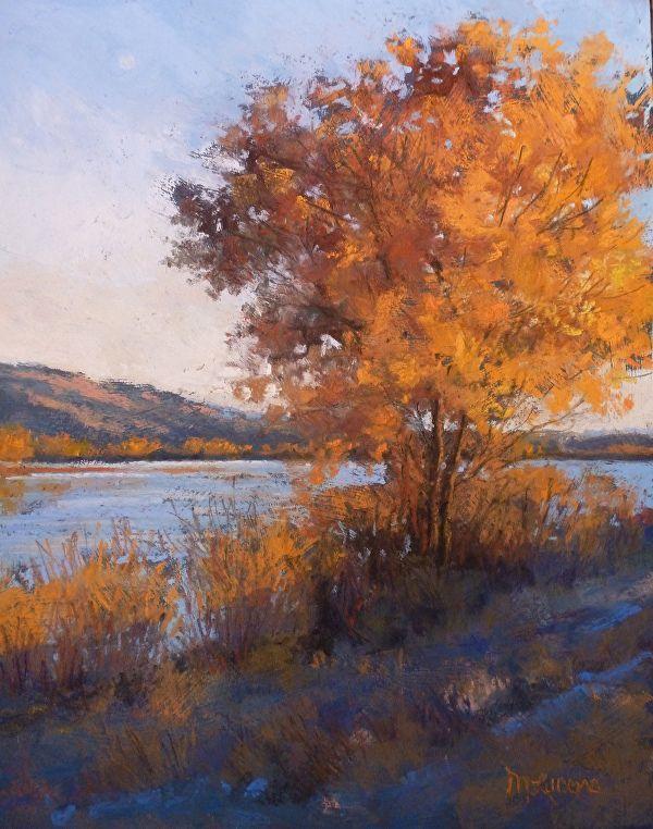 Закат осенью - самые лучшие рисунки и изображения (14)