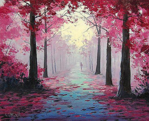 Закат осенью - самые лучшие рисунки и изображения (16)