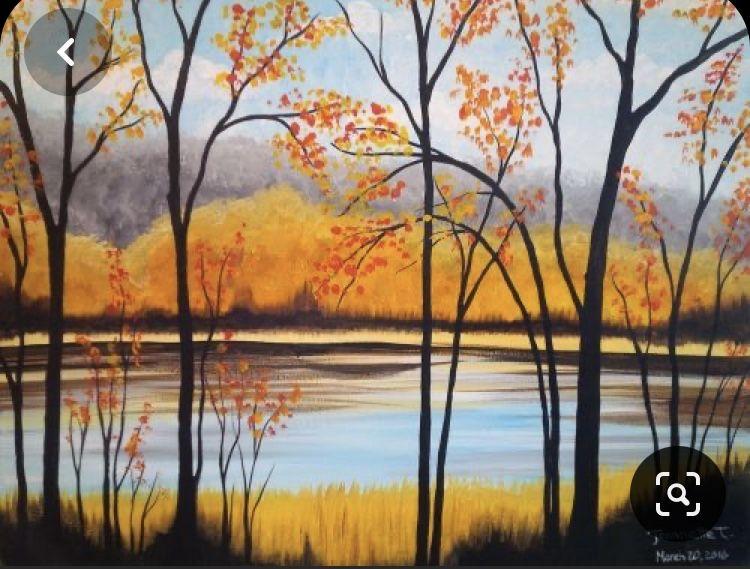 Закат осенью - самые лучшие рисунки и изображения (18)