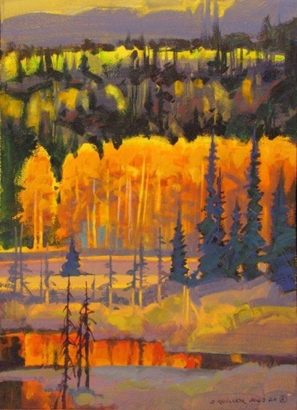 Закат осенью - самые лучшие рисунки и изображения (19)