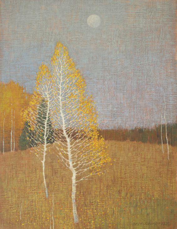 Закат осенью - самые лучшие рисунки и изображения (20)