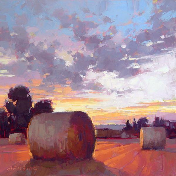Закат осенью - самые лучшие рисунки и изображения (24)