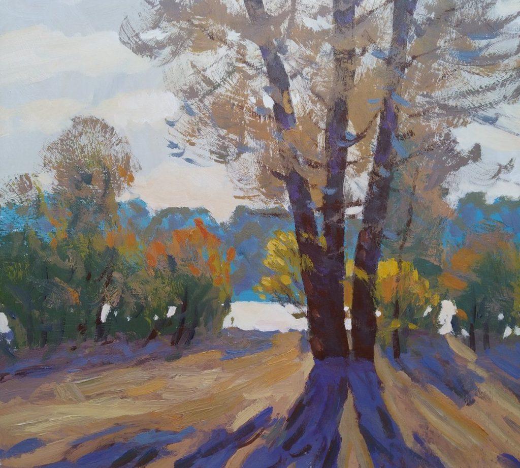 Закат осенью - самые лучшие рисунки и изображения (3)