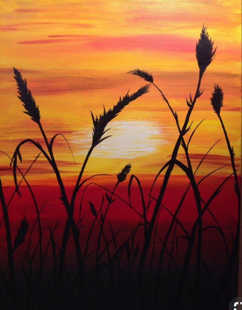Закат осенью - самые лучшие рисунки и изображения (8)