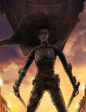 Леви Аккерман арты на аву из аниме Атака Титанов (2)