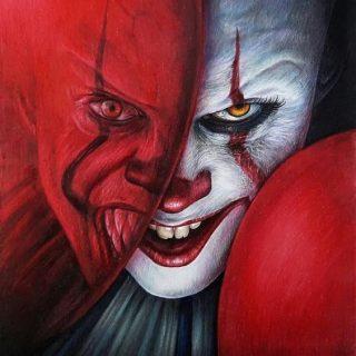 Топовые картинки клоуна на аватарку и аву   подборка (15)