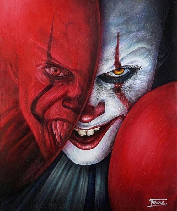 Топовые картинки клоуна на аватарку и аву - подборка (15)
