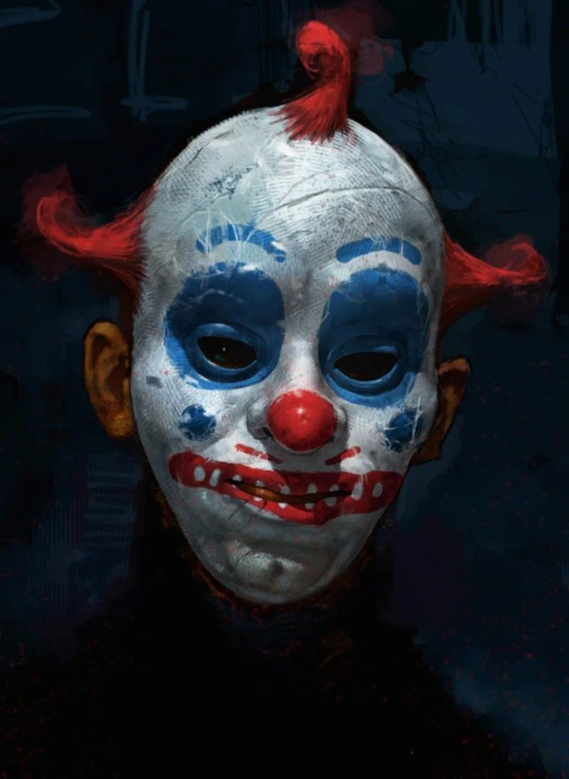 Топовые картинки клоуна на аватарку и аву подборка (8)