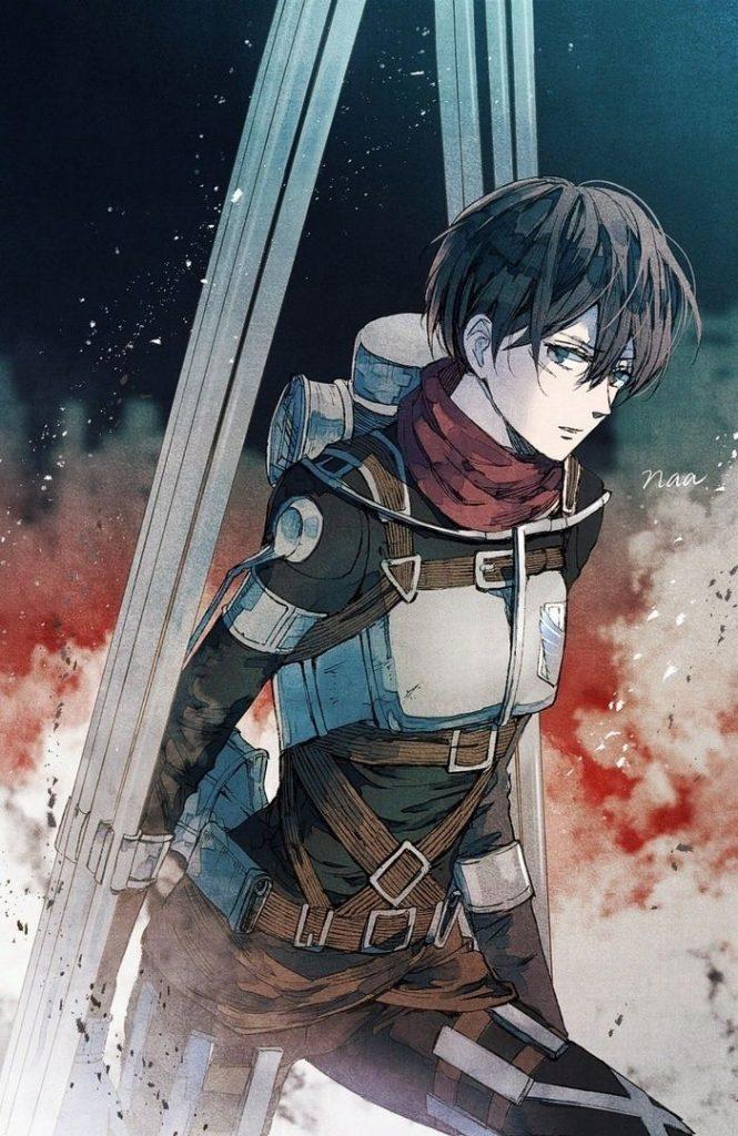 Атака Титанов 4 сезон, арты и картинки из аниме (16)