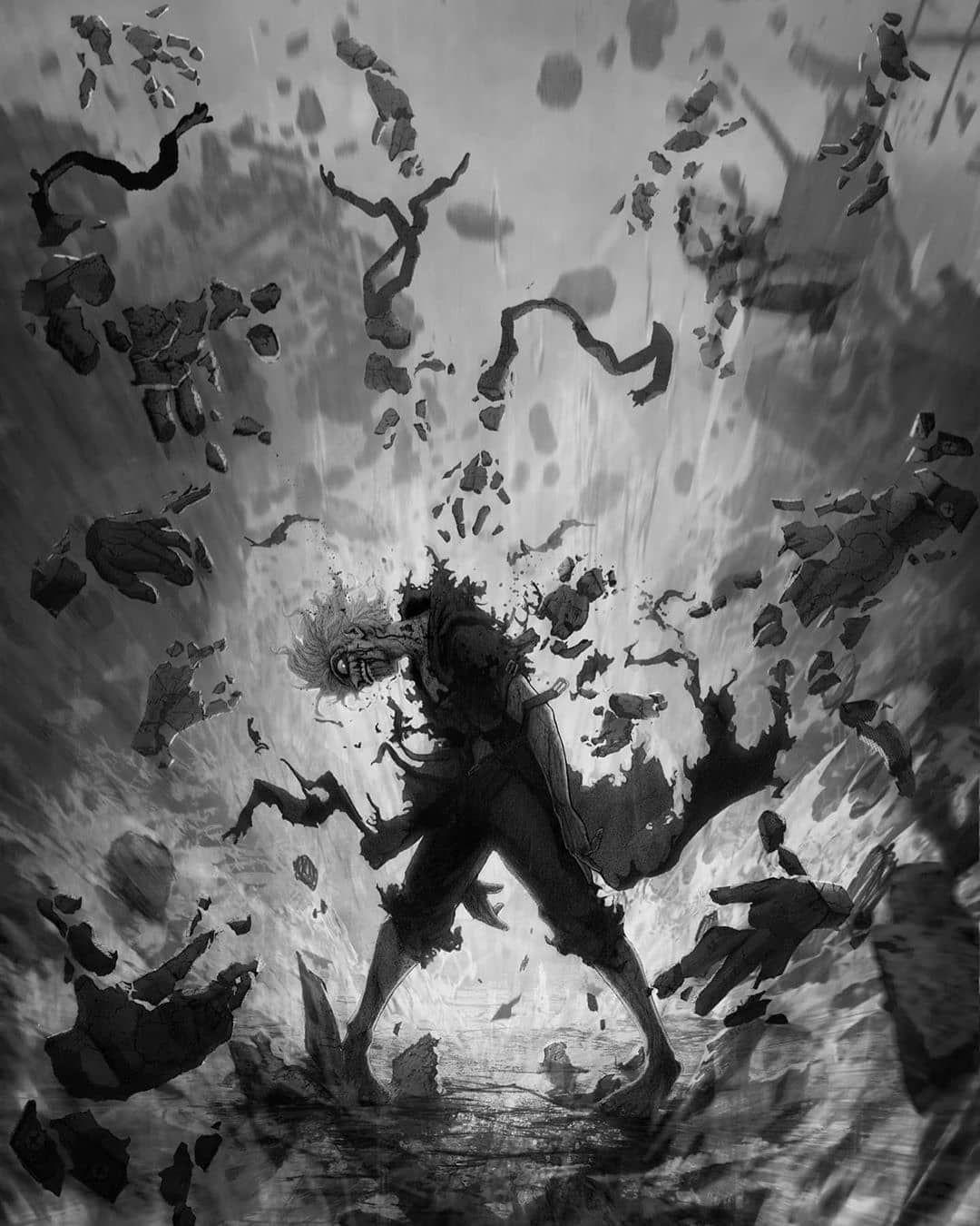 Красивые арты из аниме Ван Пис (9)
