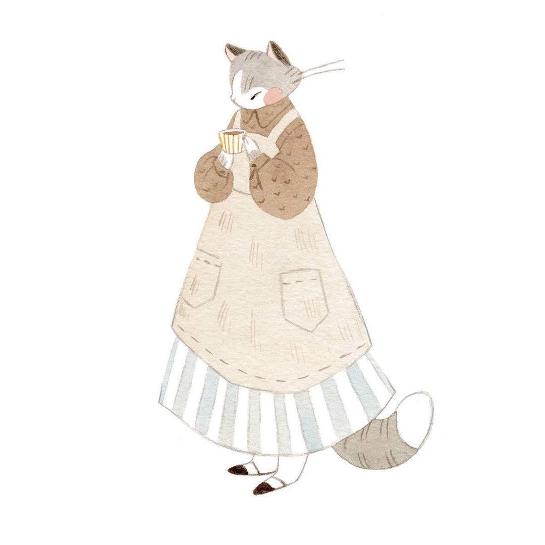 Красивые картинки для срисовки кошечки (13)