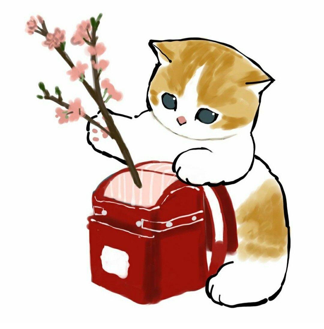 Красивые картинки для срисовки кошечки (7)