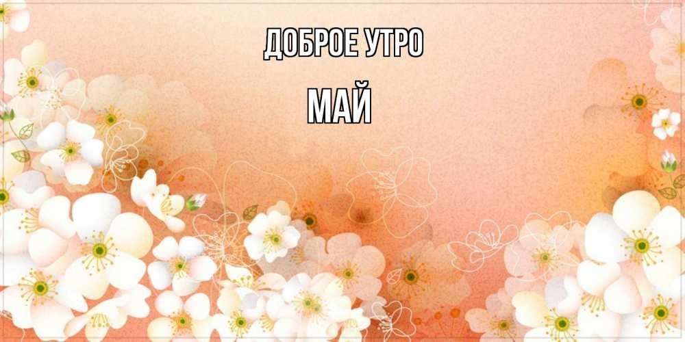 Красивые открытки с добрым майским утром - подборка (17)