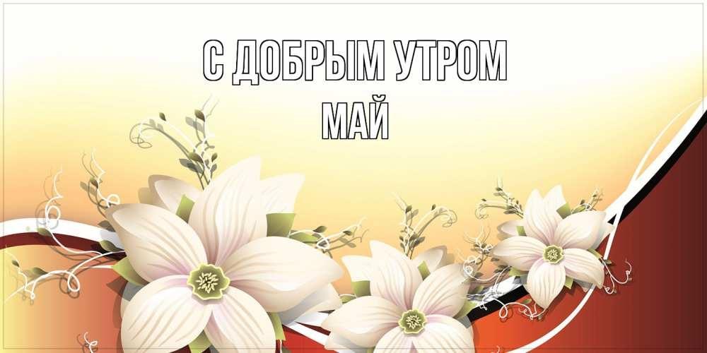 Красивые открытки с добрым майским утром - подборка (23)