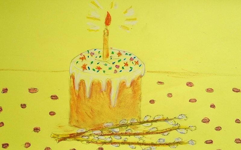 Красивые рисунки для детей на тему Пасхи (11)