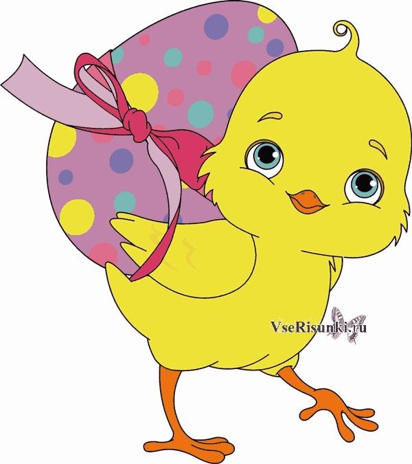 Красивые рисунки для детей на тему Пасхи (12)