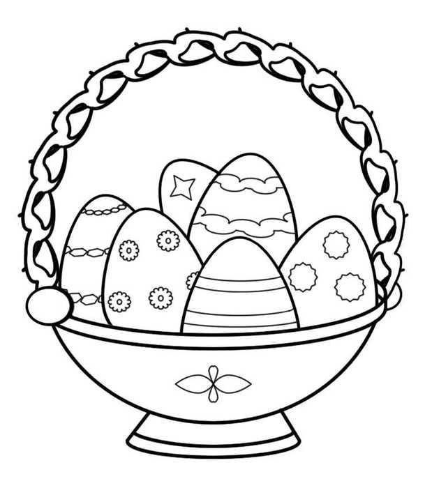 Красивые рисунки для детей на тему Пасхи (13)
