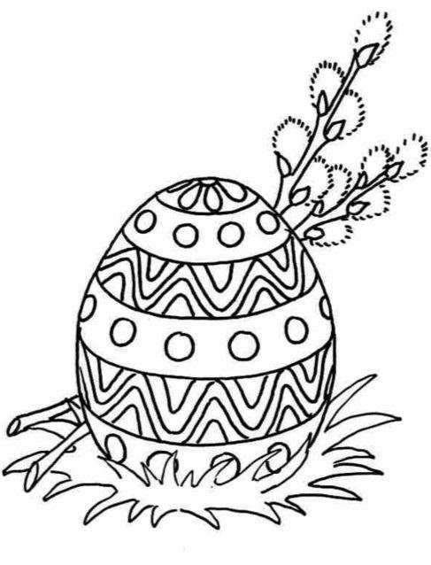 Красивые рисунки для детей на тему Пасхи (14)
