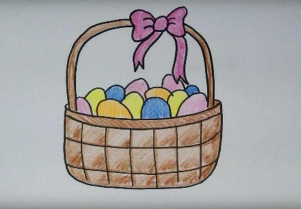 Красивые рисунки для детей на тему Пасхи (19)