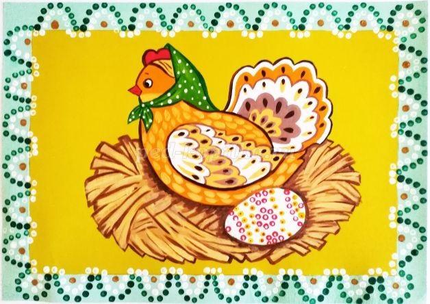 Красивые рисунки для детей на тему Пасхи (2)