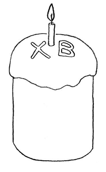 Красивые рисунки для детей на тему Пасхи (24)