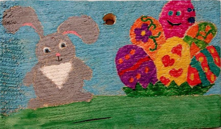 Красивые рисунки для детей на тему Пасхи (26)
