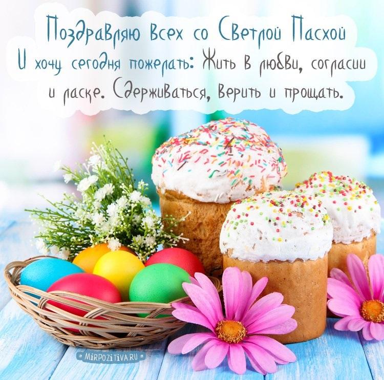 Поздравление с Пасхой картинки и открытки - очень красивые (1)