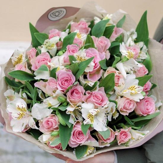 Цветы для любимой девушки, отправить картинку букетик (16)