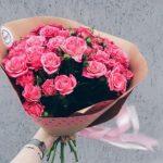 Цветы для любимой девушки, отправить картинку букетик