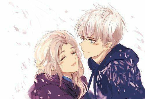 Эльза и Джек картинки их любви, красивые скетчы (15)