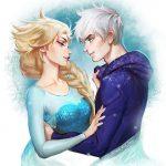 Эльза и Джек картинки их любви, красивые скетчы