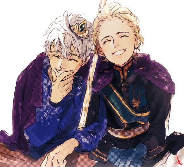 Эльза и Джек картинки их любви, красивые скетчы (9)