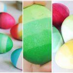 Интересные способы окрашивания яиц на Пасху