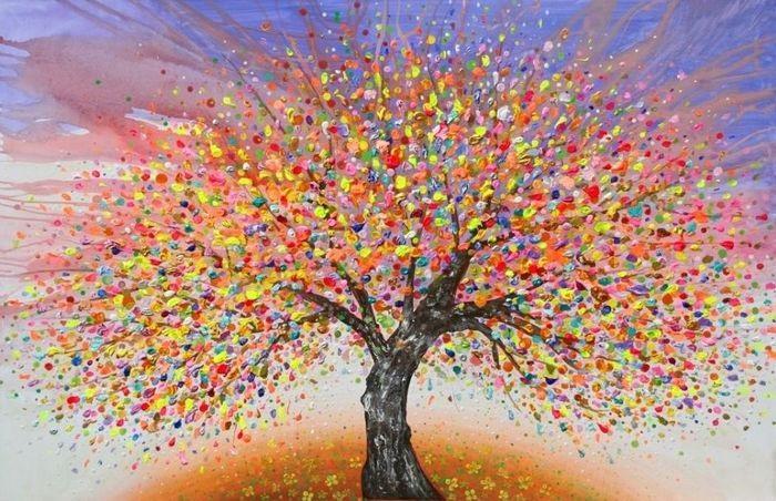 Волшебное дерево нарисовать карандашом, идеи (1)