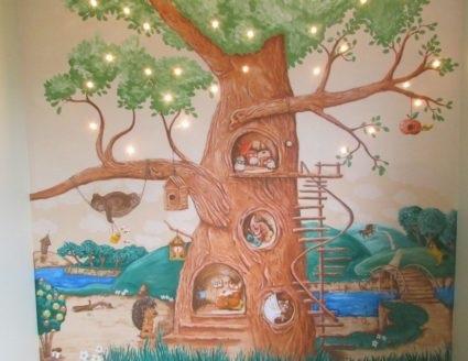 Волшебное дерево нарисовать карандашом, идеи (23)