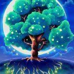 Волшебное дерево нарисовать карандашом, идеи