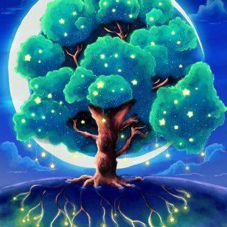 Волшебное дерево нарисовать карандашом, идеи (25)