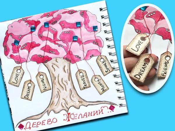 Волшебное дерево нарисовать карандашом, идеи (5)