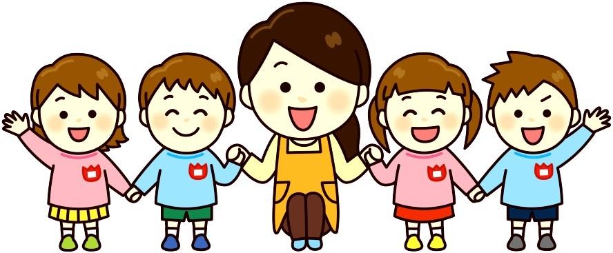 Красивый рисунок дети и воспитатель (26)