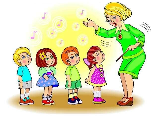 Красивый рисунок дети и воспитатель (5)